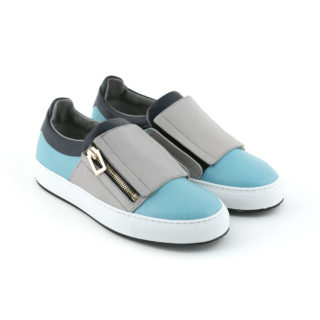 sneaker-slip-on-leather-blue-zip