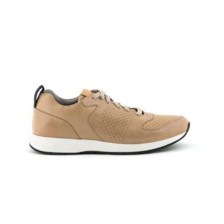 sneaker-uomo-marrone-allacciata